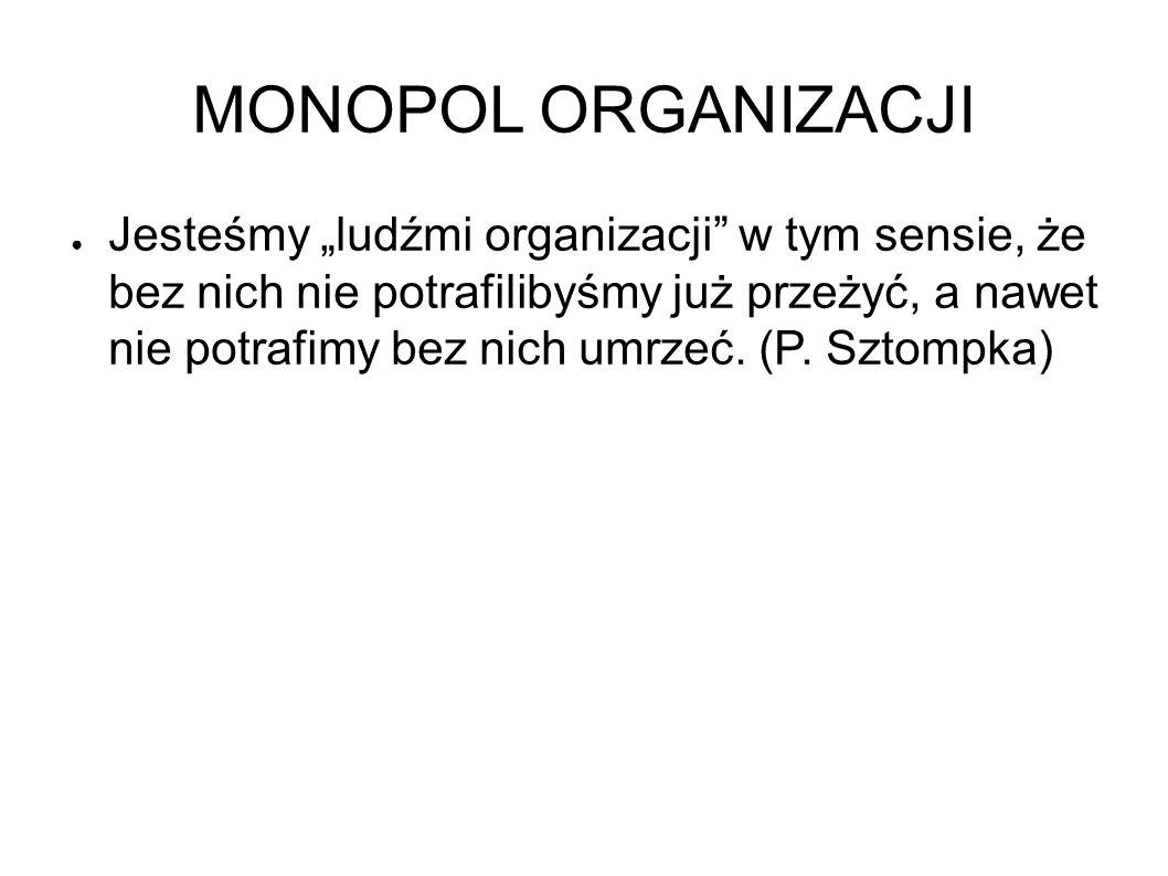 MONOPOL ORGANIZACJI
