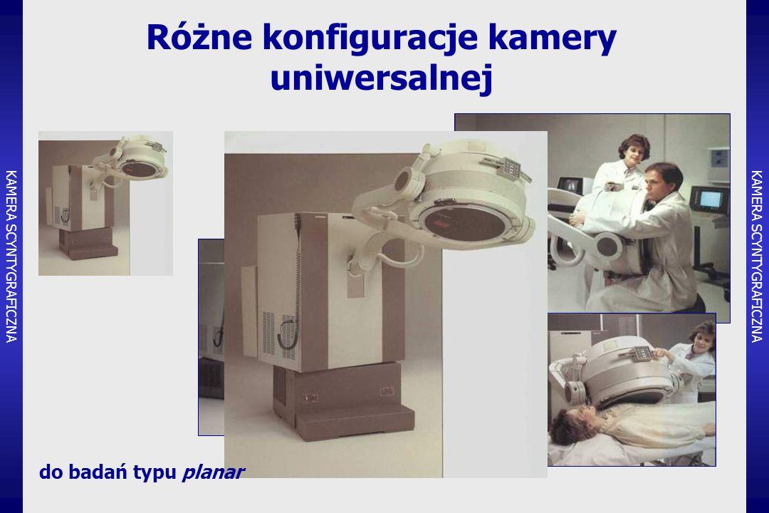 Różne konfiguracje kamery uniwersalnej