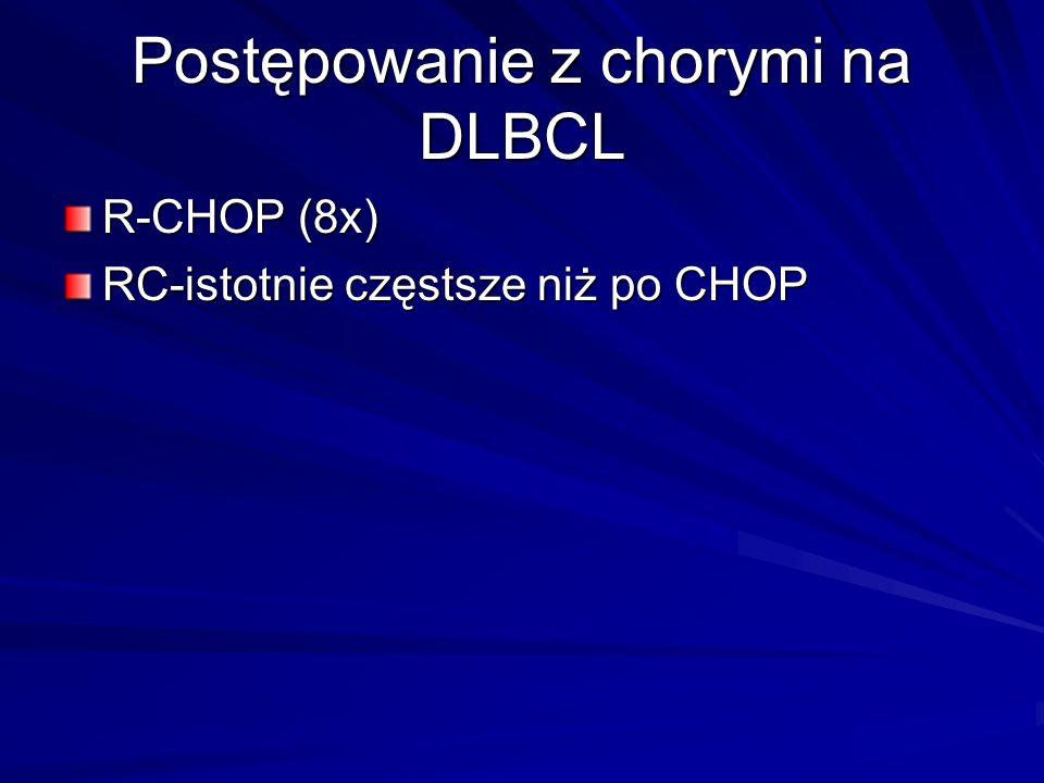 Postępowanie z chorymi na DLBCL