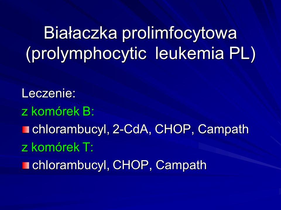 Białaczka prolimfocytowa (prolymphocytic leukemia PL)