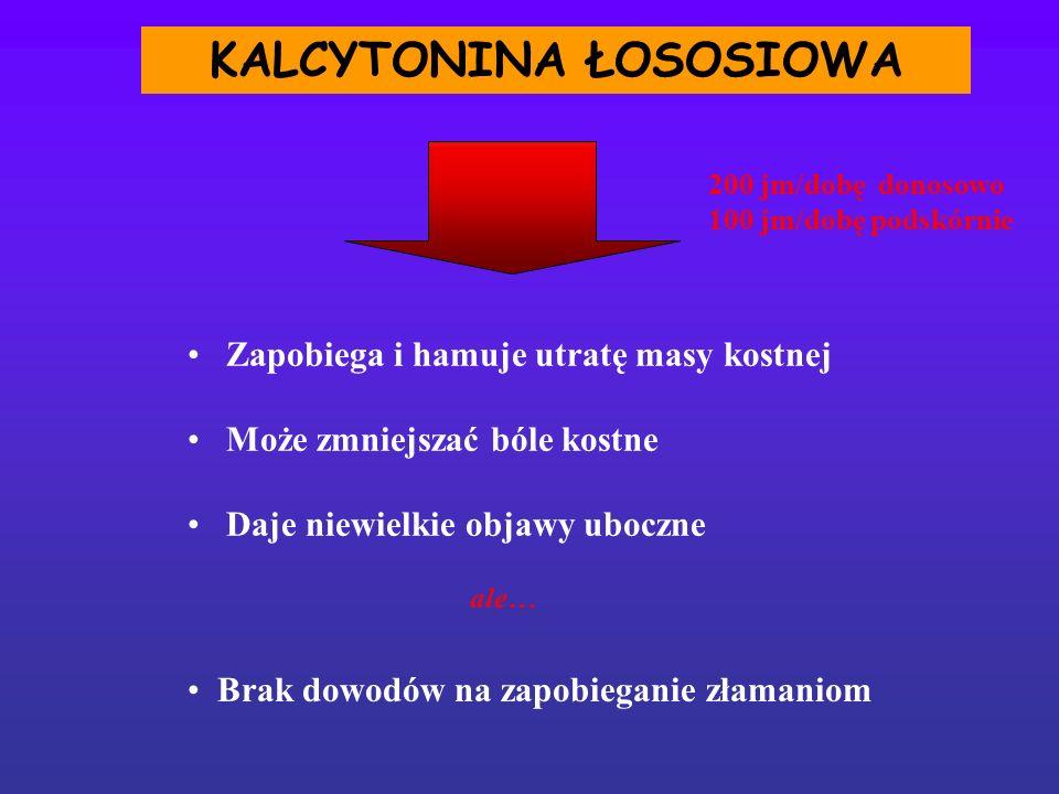 KALCYTONINA ŁOSOSIOWA