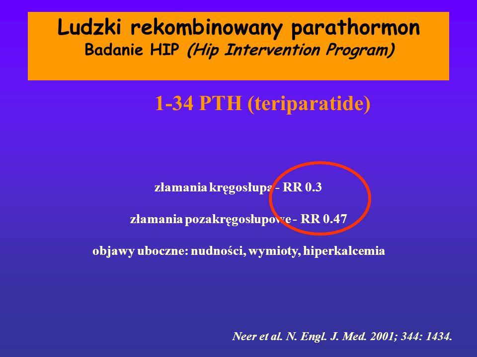 Ludzki rekombinowany parathormon