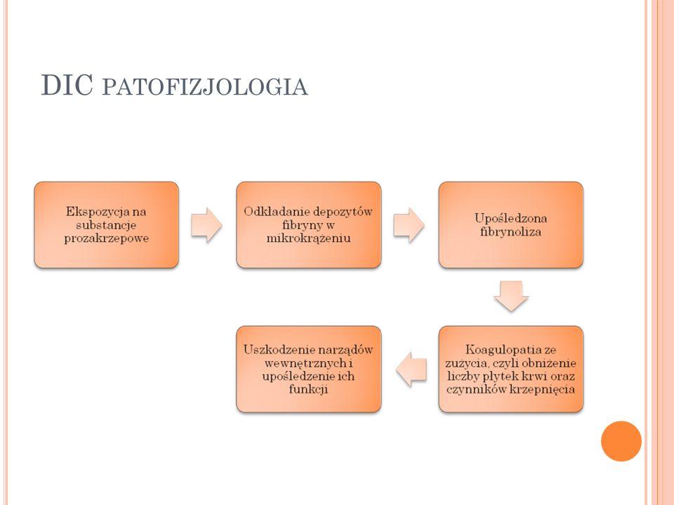 DIC patofizjologia