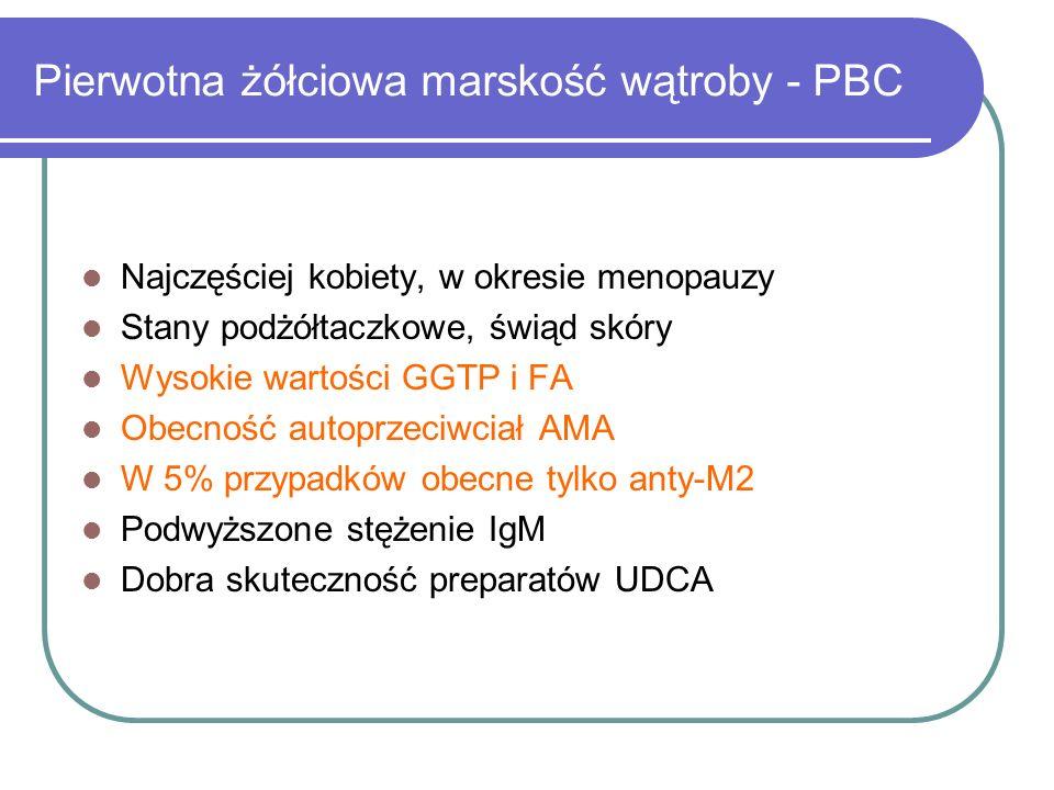 Pierwotna żółciowa marskość wątroby - PBC