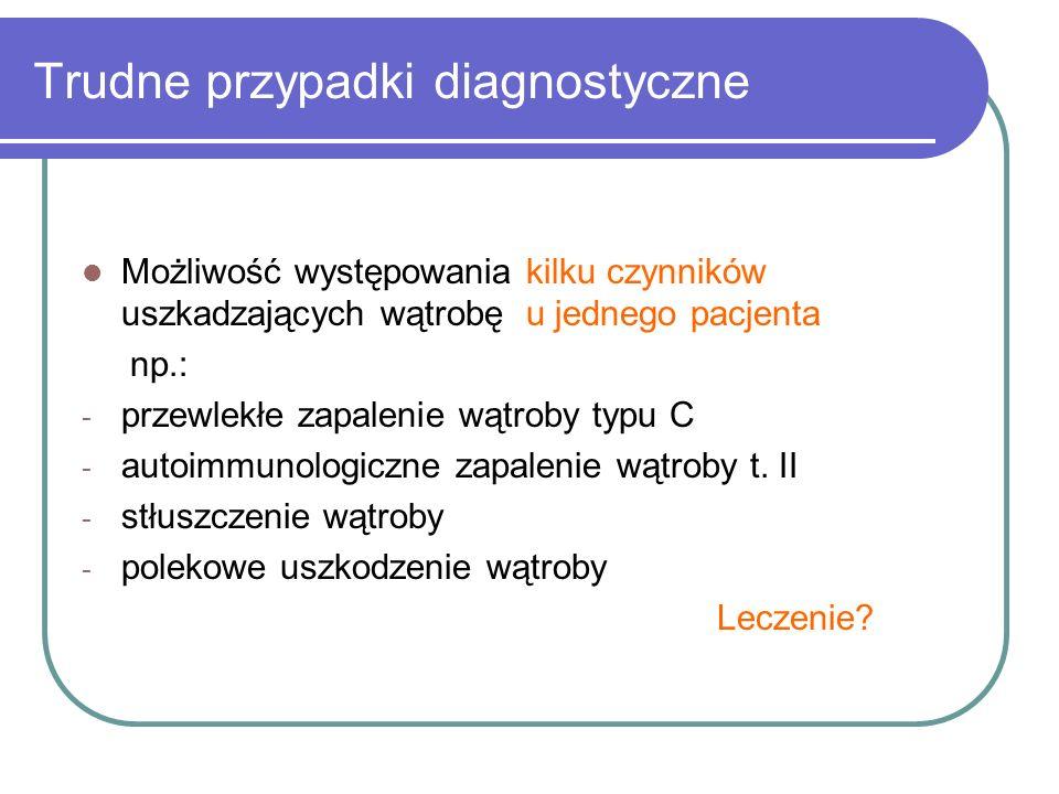 Trudne przypadki diagnostyczne