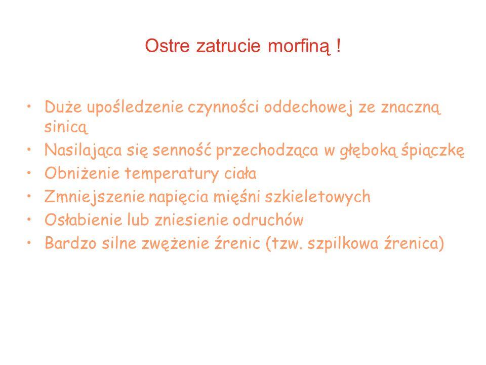 Ostre zatrucie morfiną !
