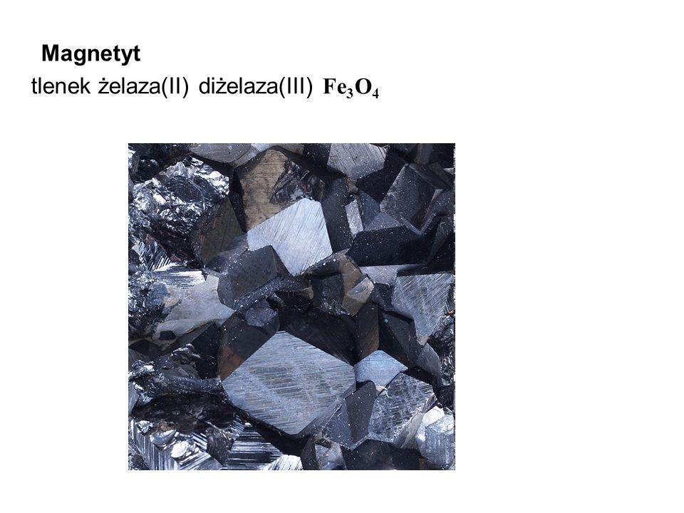 Magnetyt tlenek żelaza(II) diżelaza(III) Fe3O4