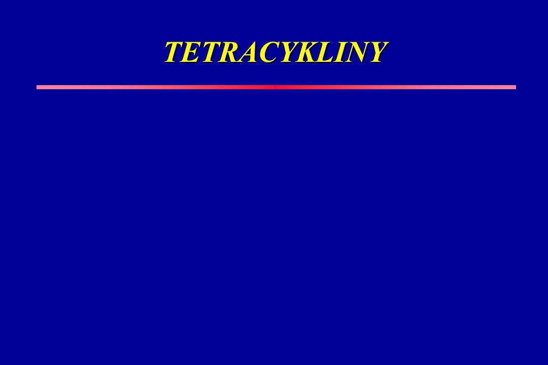TETRACYKLINY