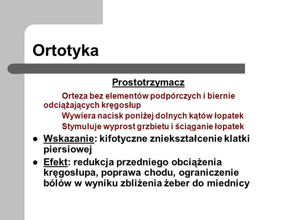 Ortotyka Prostotrzymacz