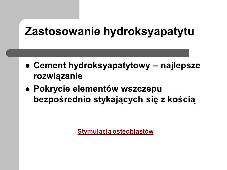 Zastosowanie hydroksyapatytu