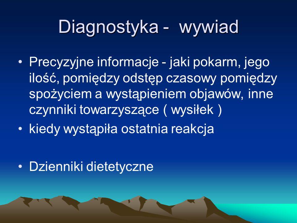 Diagnostyka - wywiad