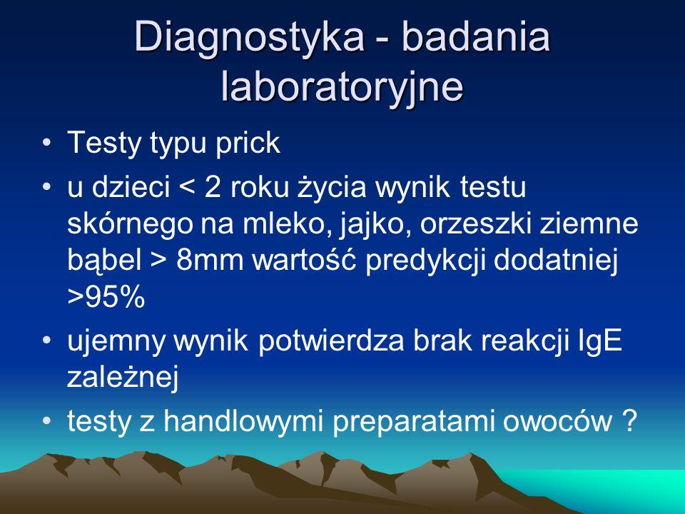 Diagnostyka - badania laboratoryjne