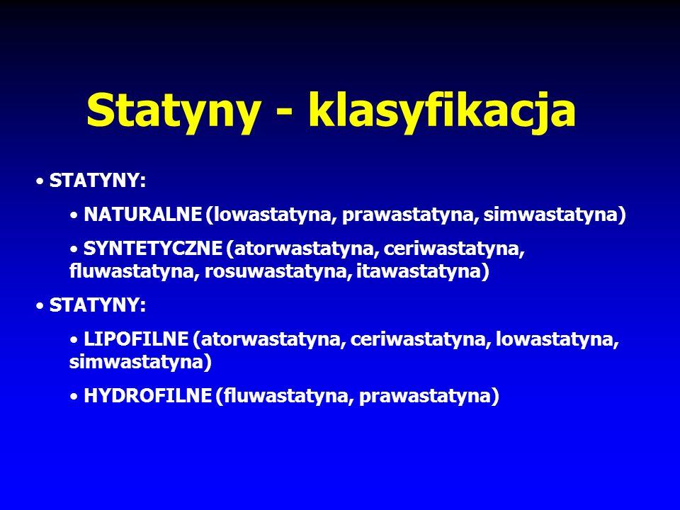 Statyny - klasyfikacja