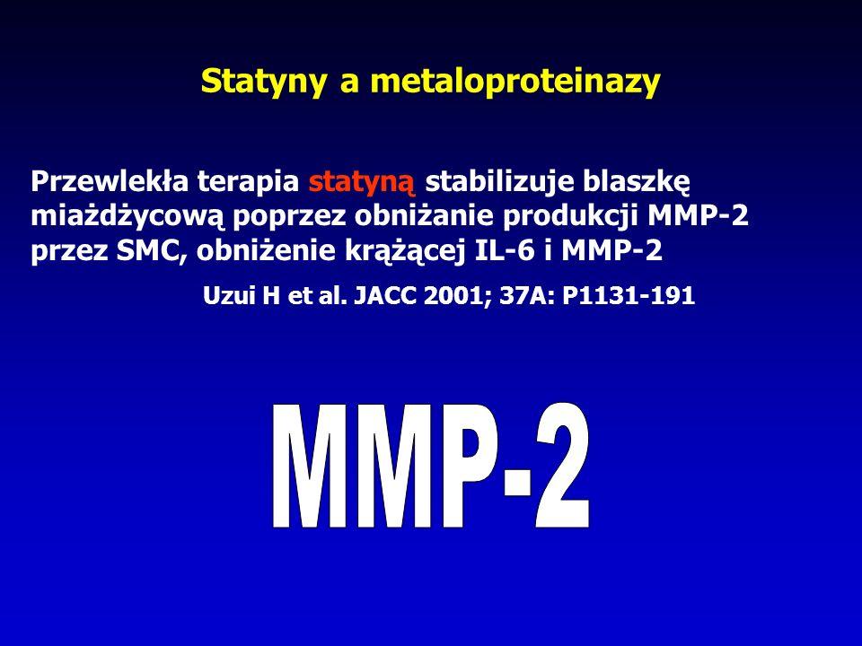 Statyny a metaloproteinazy