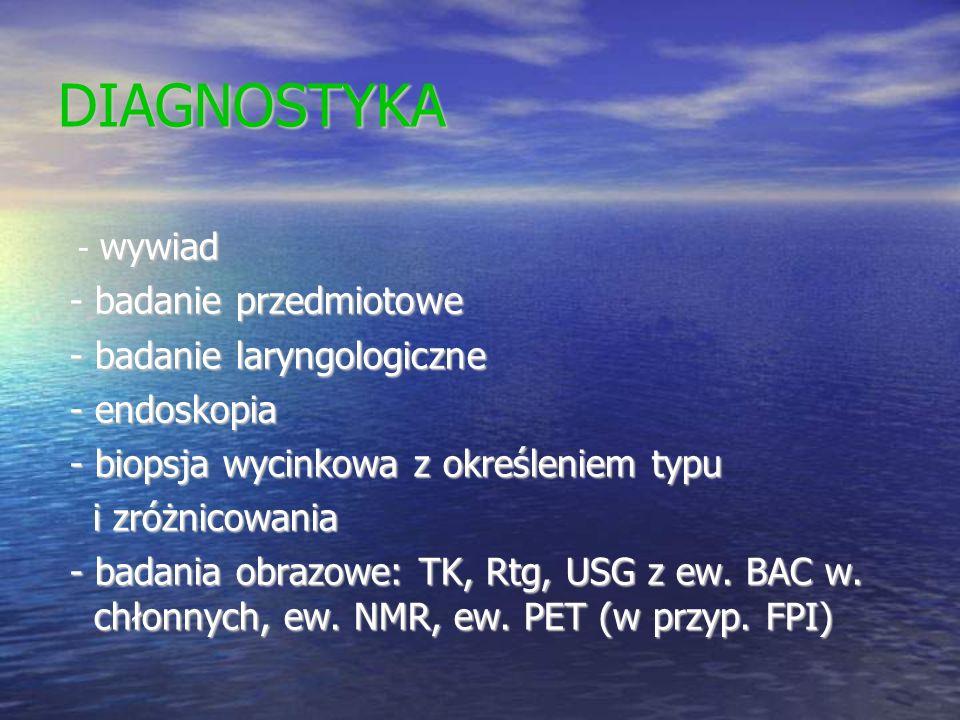 DIAGNOSTYKA - badanie przedmiotowe - badanie laryngologiczne