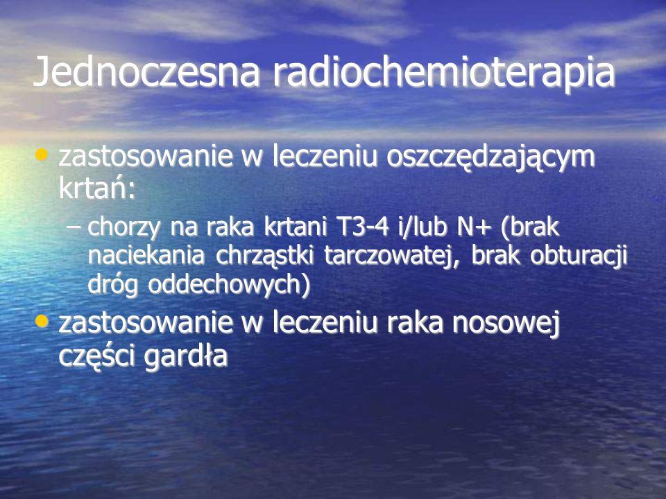 Jednoczesna radiochemioterapia