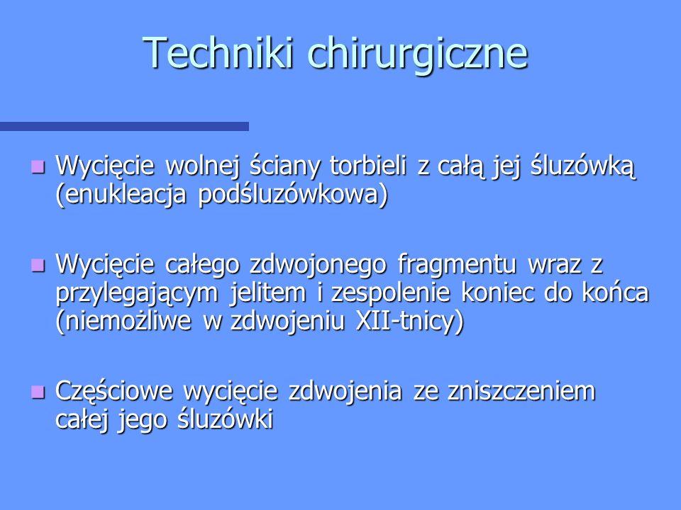 Techniki chirurgiczne