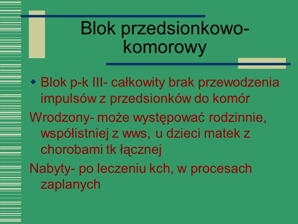 Blok przedsionkowo-komorowy