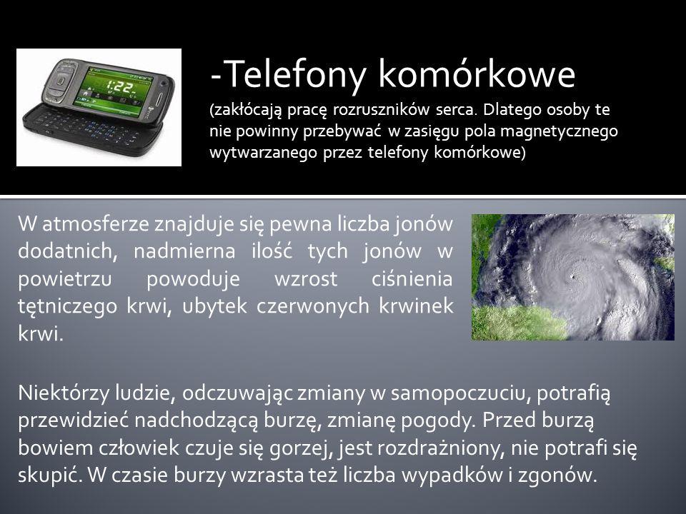 -Telefony komórkowe