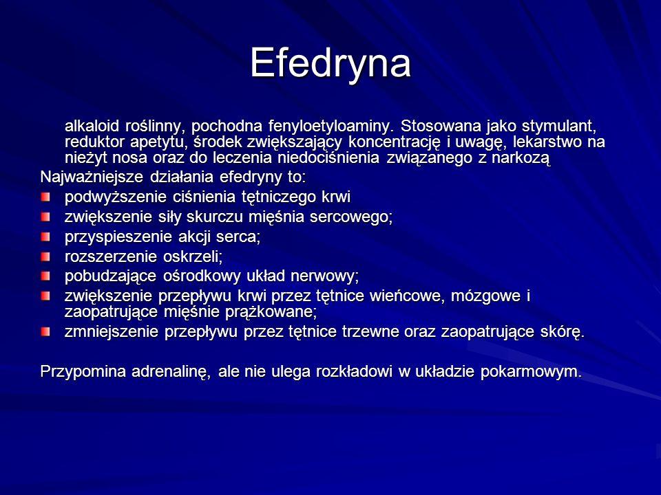 Efedryna