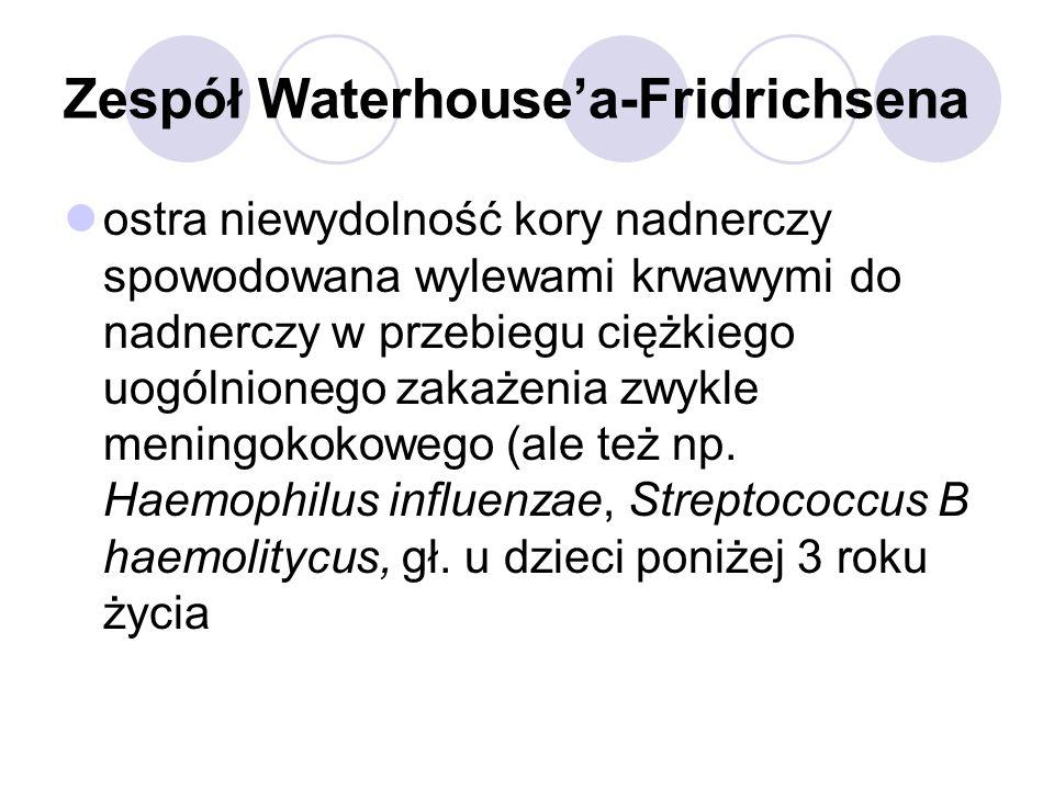 Zespół Waterhouse'a-Fridrichsena