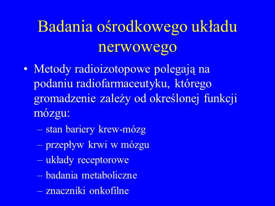 Badania ośrodkowego układu nerwowego