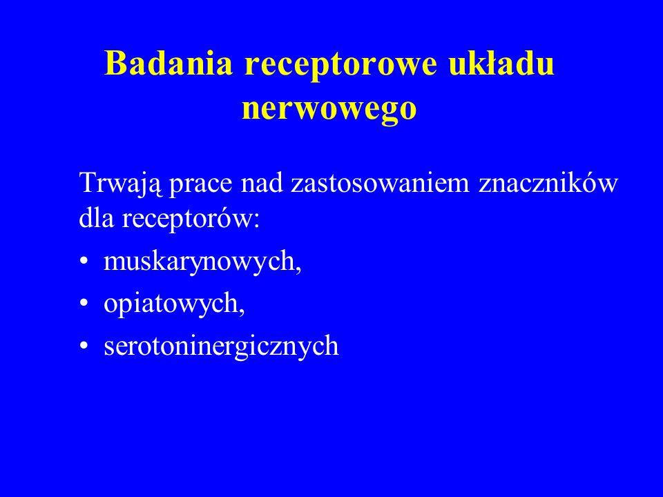Badania receptorowe układu nerwowego