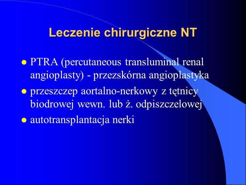 Leczenie chirurgiczne NT