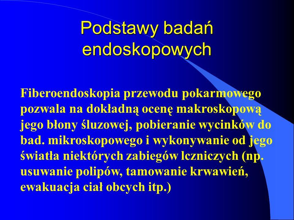 Podstawy badań endoskopowych