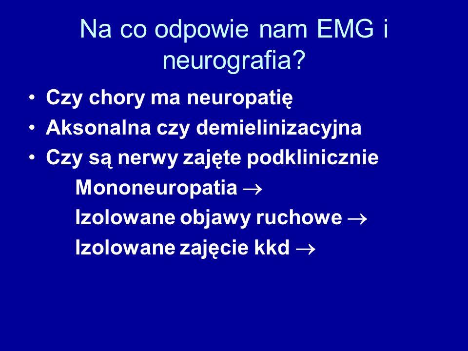 Na co odpowie nam EMG i neurografia