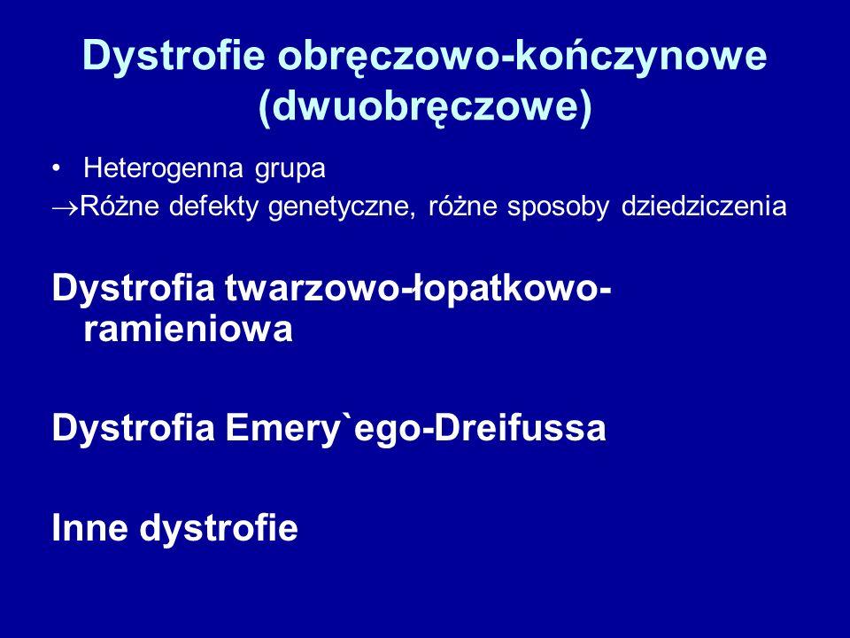 Dystrofie obręczowo-kończynowe (dwuobręczowe)