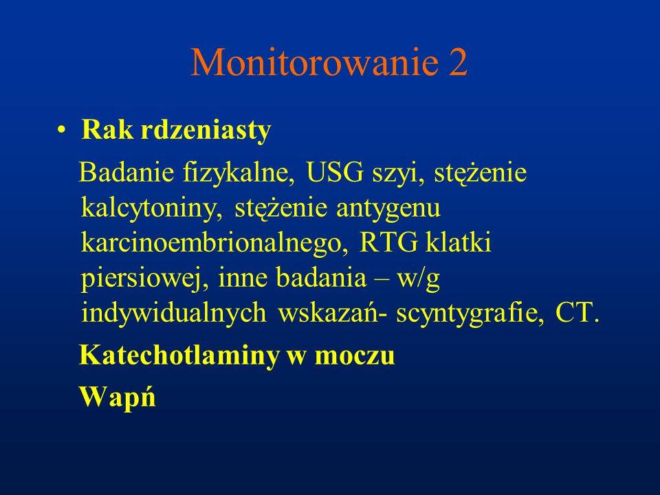 Monitorowanie 2 Rak rdzeniasty