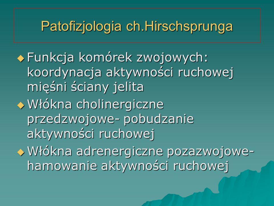 Patofizjologia ch.Hirschsprunga
