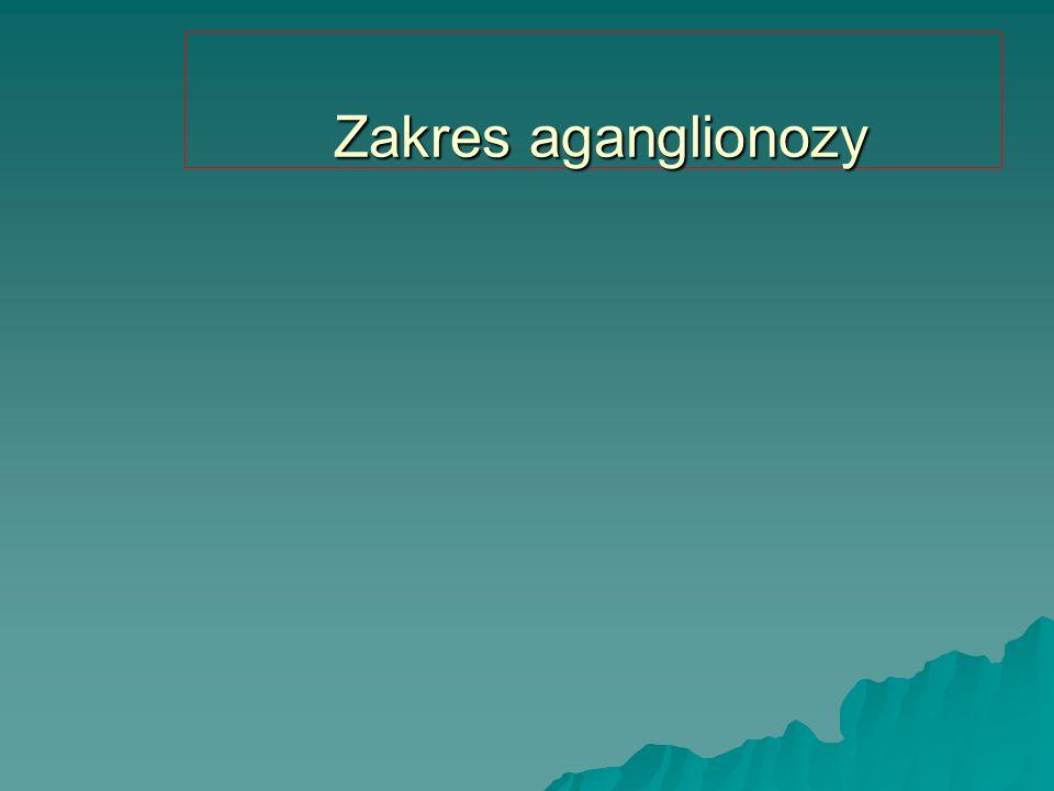 Zakres aganglionozy