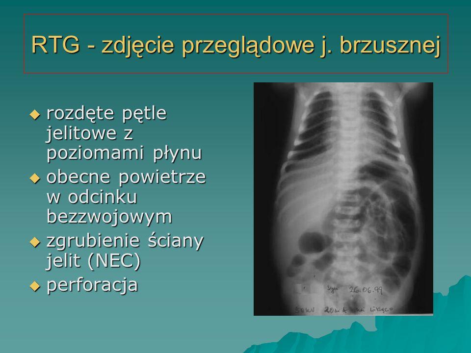 RTG - zdjęcie przeglądowe j. brzusznej