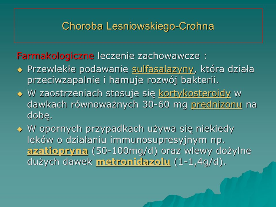 Choroba Lesniowskiego-Crohna