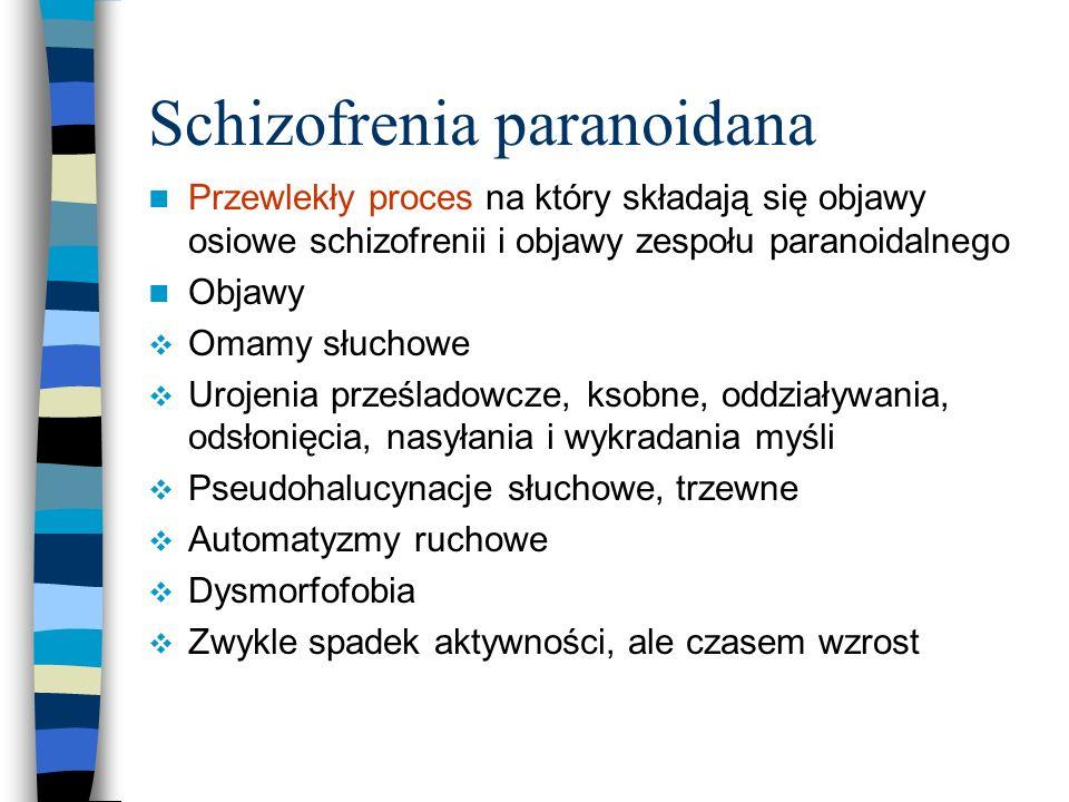 Schizofrenia paranoidana