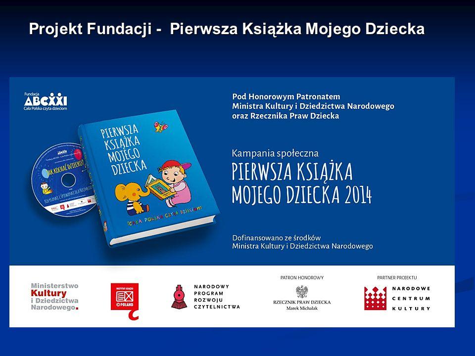 Projekt Fundacji - Pierwsza Książka Mojego Dziecka