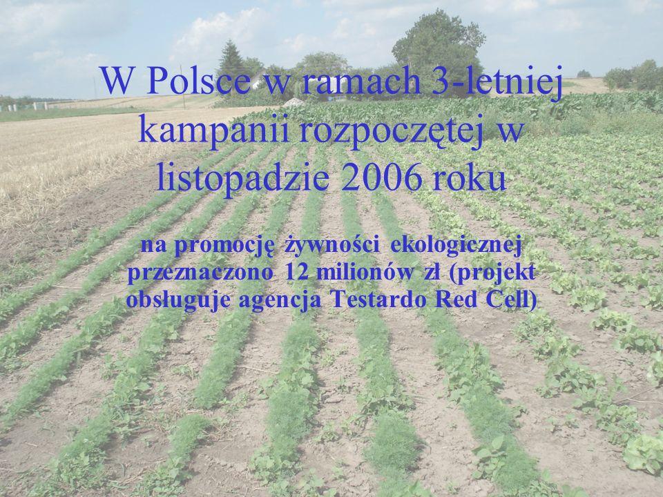 W Polsce w ramach 3-letniej kampanii rozpoczętej w listopadzie 2006 roku