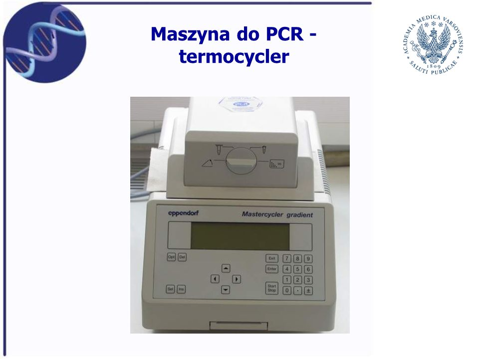 Maszyna do PCR - termocycler