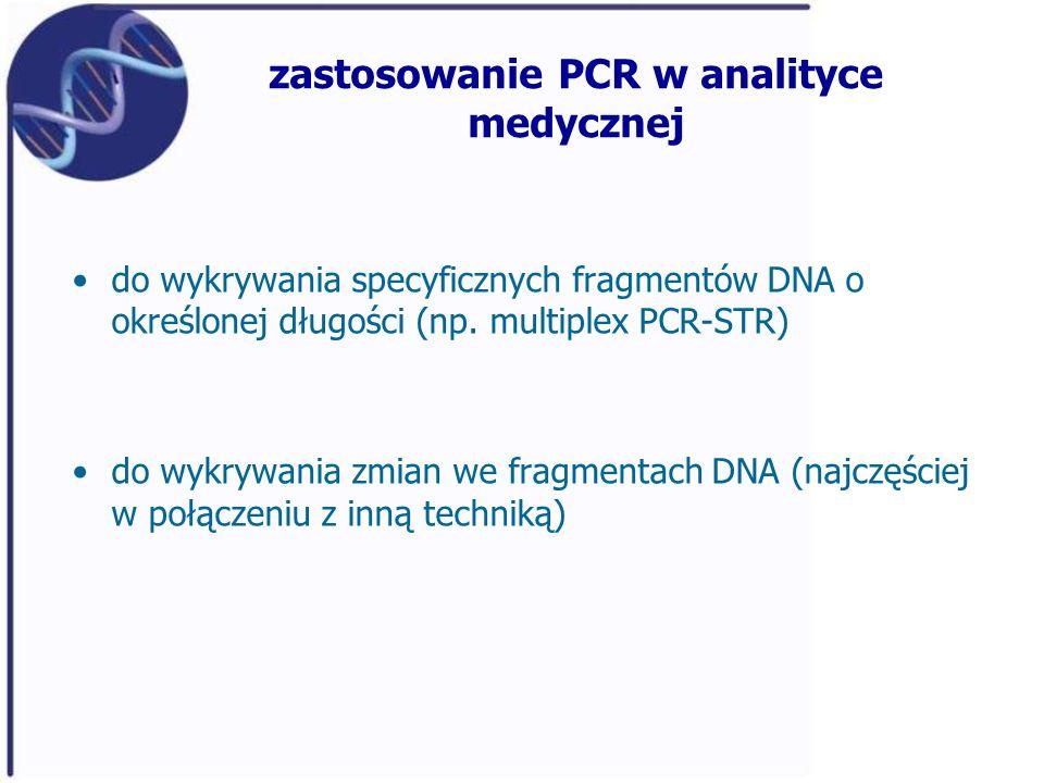 zastosowanie PCR w analityce medycznej