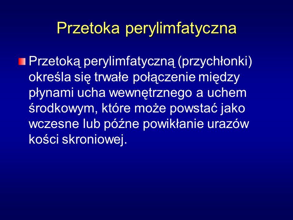 Przetoka perylimfatyczna