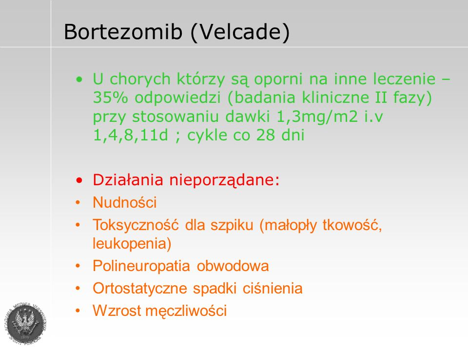 Bortezomib (Velcade)