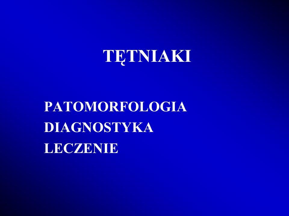 PATOMORFOLOGIA DIAGNOSTYKA LECZENIE