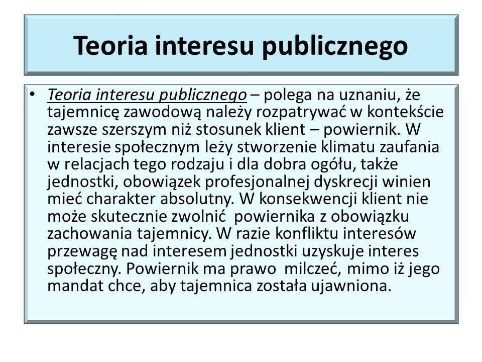Teoria interesu publicznego