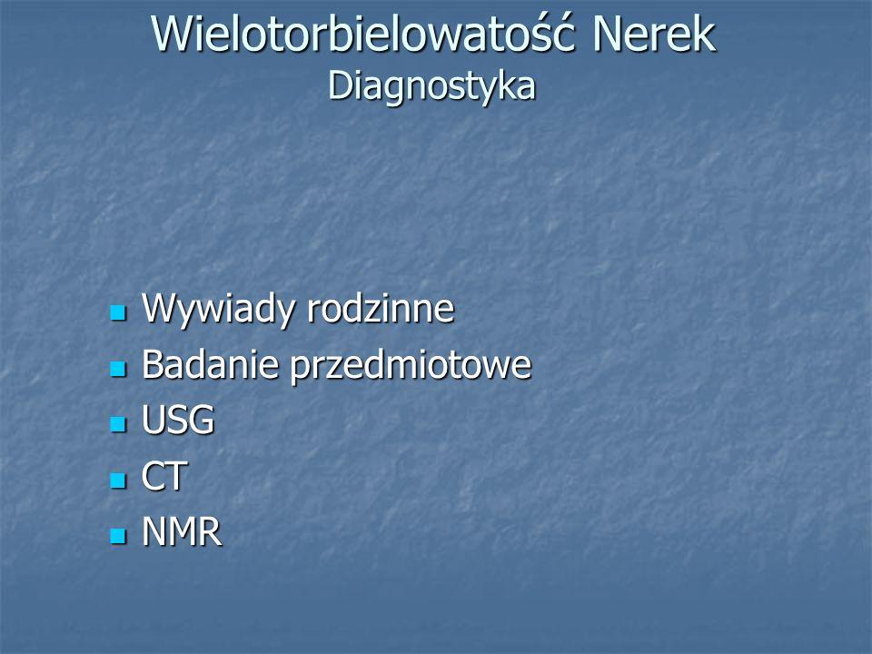 Wielotorbielowatość Nerek Diagnostyka