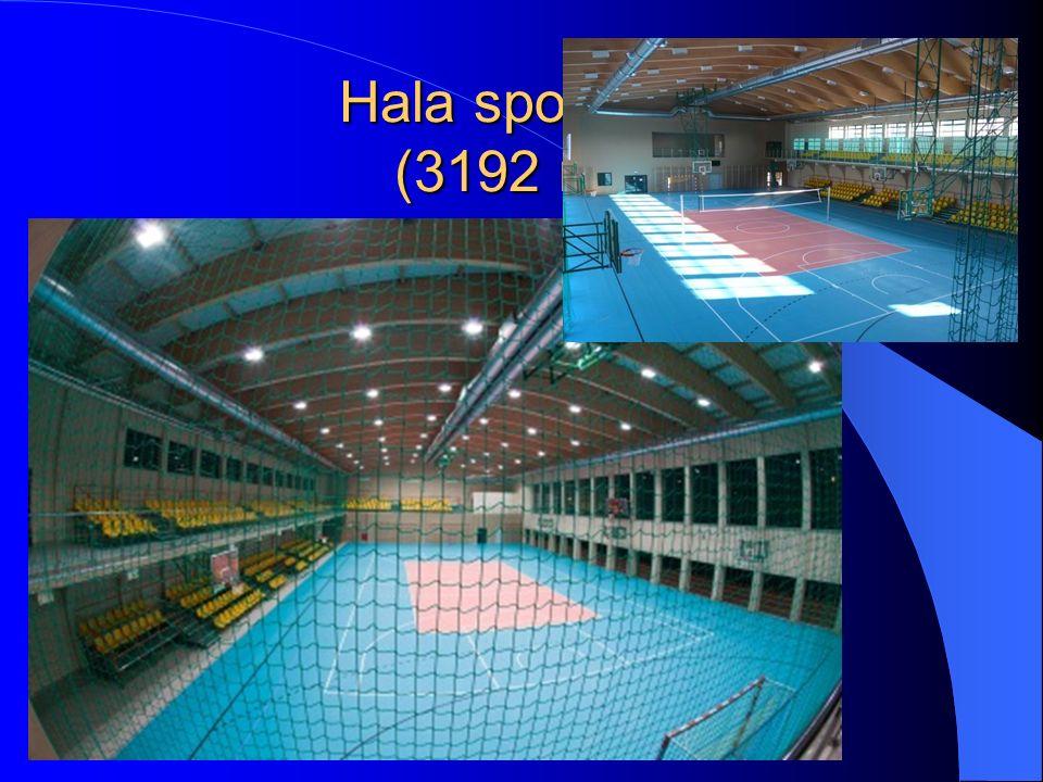 Hala sportowa (3192 m2)