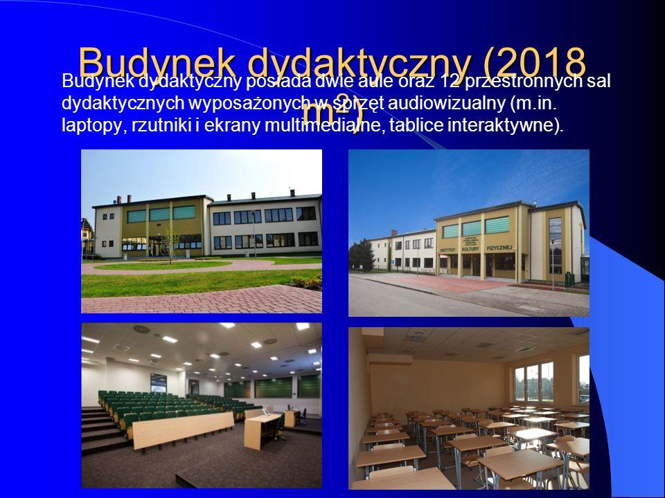 Budynek dydaktyczny (2018 m2)