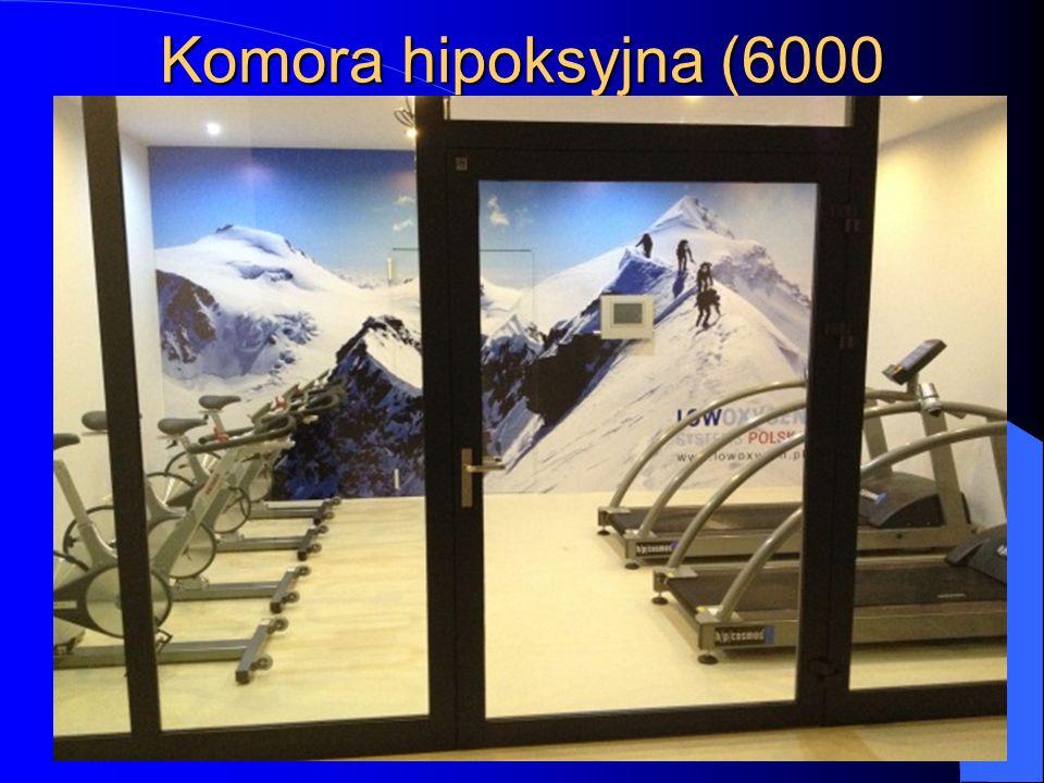 Komora hipoksyjna (6000 m.n.p.m)