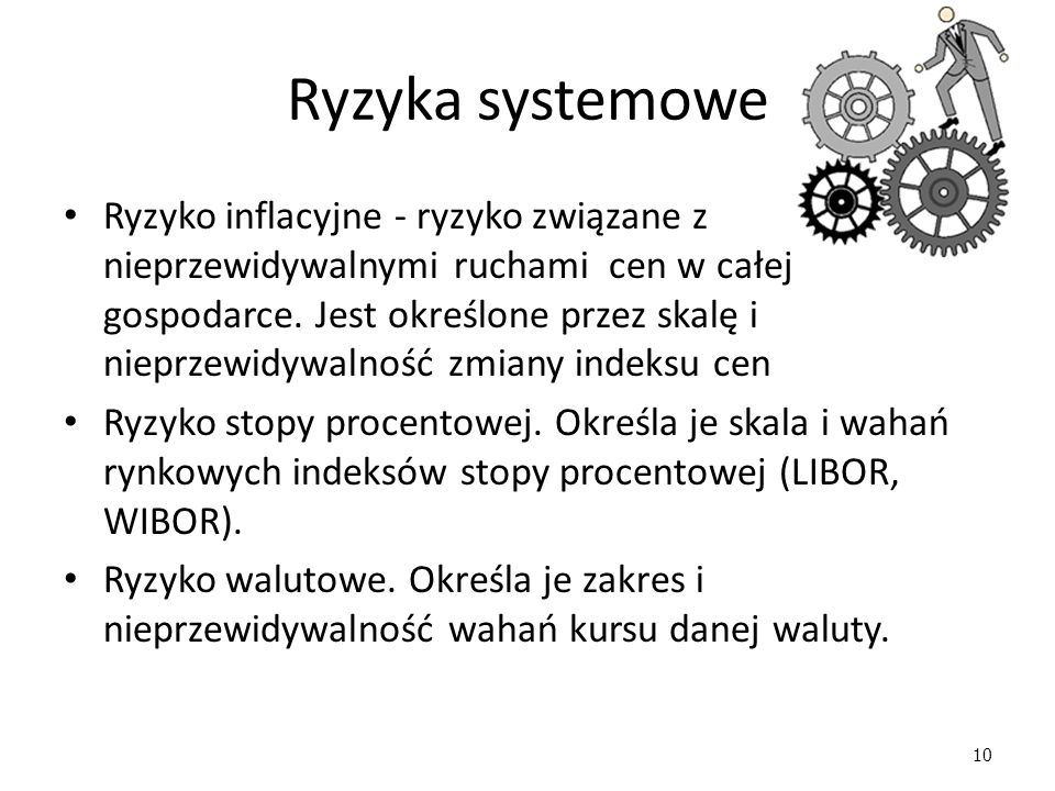 Ryzyka systemowe